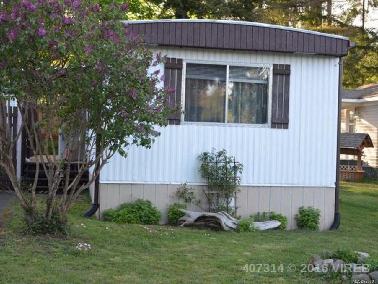 Main Photo: 19 1901 E Ryan Rd in COMOX: CV Comox Peninsula Manufactured Home for sale (Comox Valley)  : MLS®# 728781