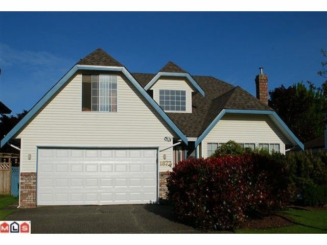 "Main Photo: 1877 141A Street in Surrey: Sunnyside Park Surrey House for sale in ""OCEAN BLUFF"" (South Surrey White Rock)  : MLS®# F1013903"