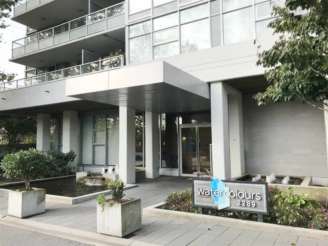 """Main Photo: 2605 2289 YUKON Crescent in Burnaby: Brentwood Park Condo for sale in """"Water colour"""" (Burnaby North)  : MLS®# R2511997"""