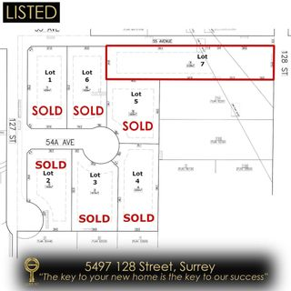 Photo 1: 5497 128 Street: Land for sale in Surrey: MLS®# R2546045