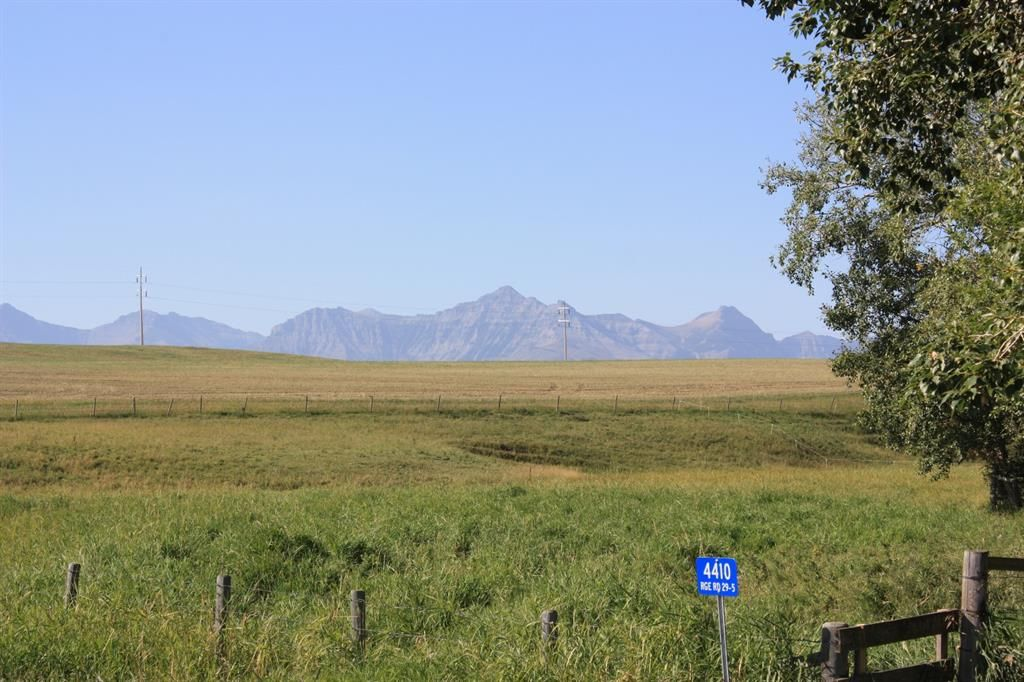 Main Photo: For Sale: 4410 Rge Rd 295, Rural Pincher Creek No. 9, M.D. of, T0K 1W0 - A1144475