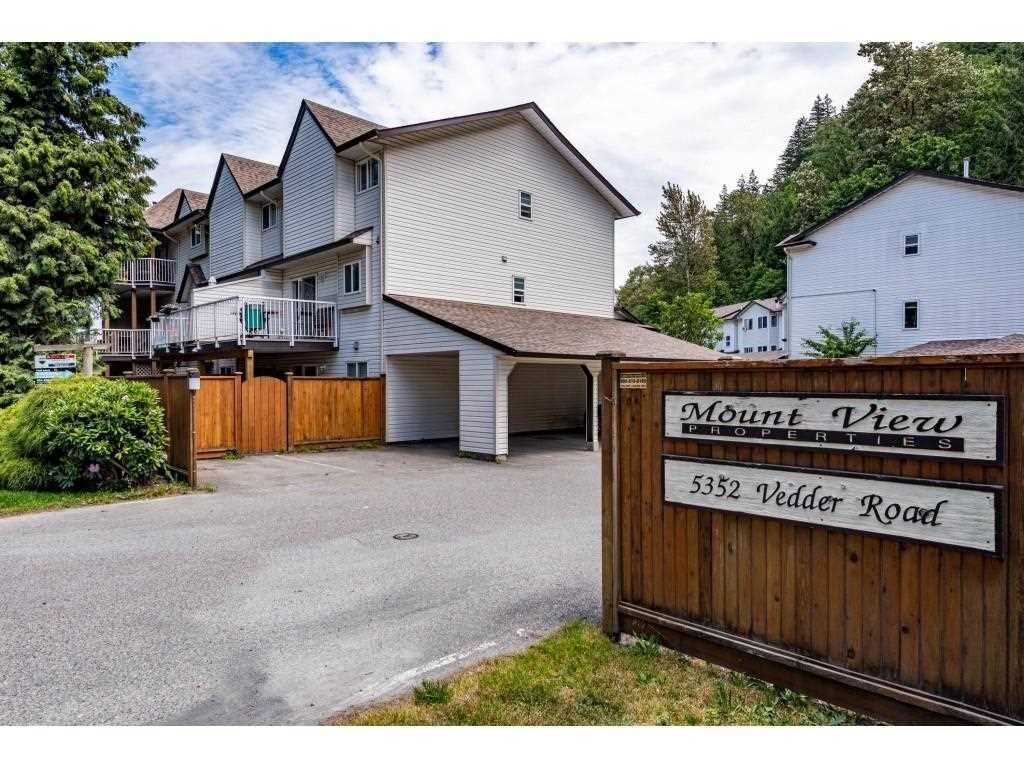 Main Photo: 10 5352 VEDDER Road in Chilliwack: Vedder S Watson-Promontory Townhouse for sale (Sardis)  : MLS®# R2589162