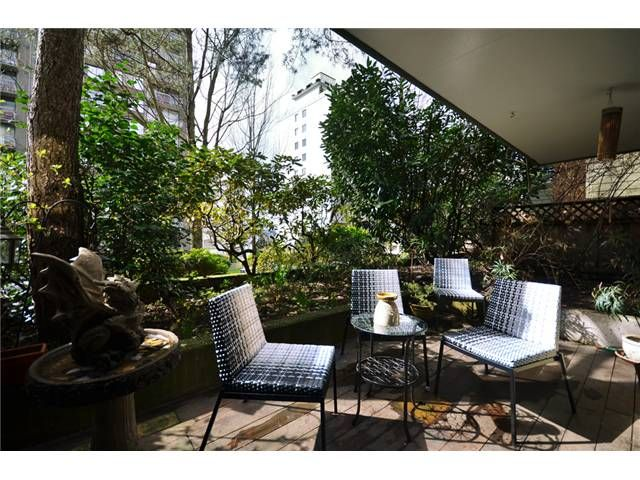 Wonderfully large private patio. Perfect for BBQs, enjoying a glass of wine or reading.