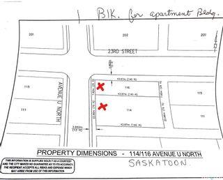 Main Photo: 116 U Avenue North in Saskatoon: Mount Royal SA Residential for sale : MLS®# SK865690