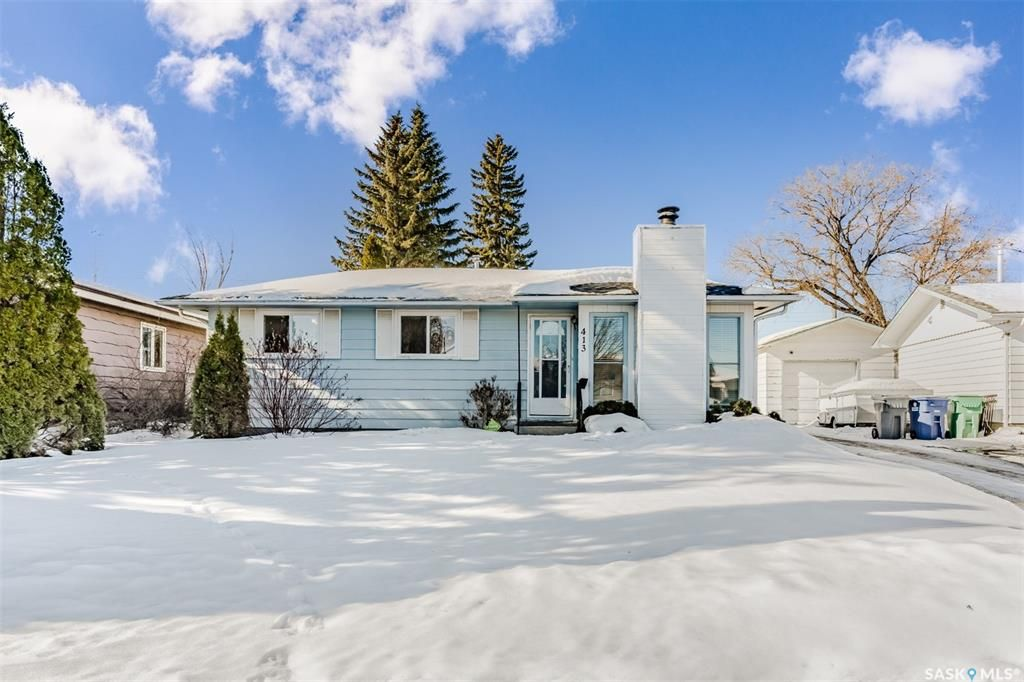 Main Photo: 413 Vancouver Avenue North in Saskatoon: Mount Royal SA Residential for sale : MLS®# SK842189