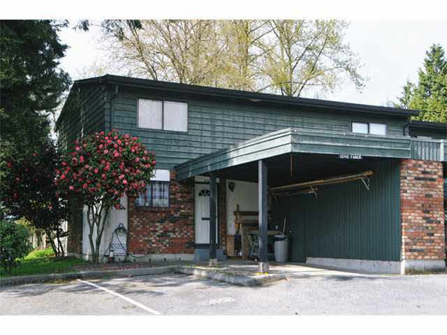 Main Photo: 12142 FABER CRESCENT in : Northwest Maple Ridge Townhouse for sale : MLS®# V1001061