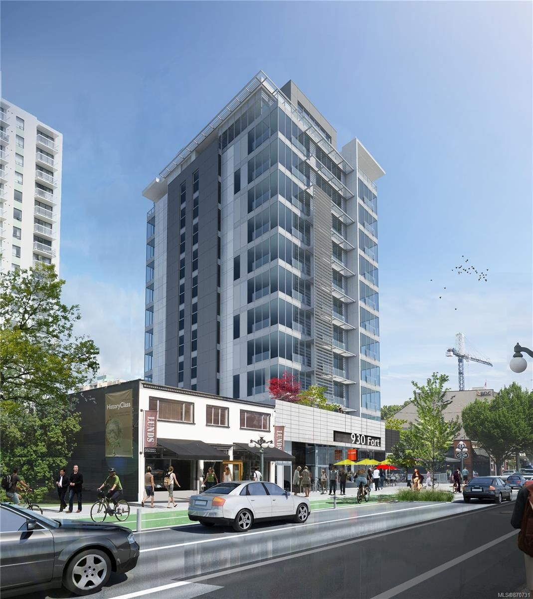 Main Photo: 930 Fort St in : Vi Downtown Unimproved Land for sale (Victoria)  : MLS®# 870731