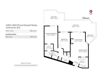 """Photo 15: 402 2222 PRINCE EDWARD Street in Vancouver: Mount Pleasant VE Condo for sale in """"SUNRISE ON THE PARK"""" (Vancouver East)  : MLS®# R2285545"""