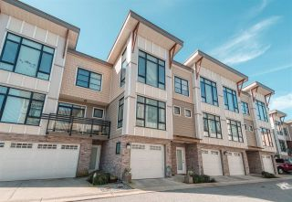 """Photo 1: 44 9989 E BARNSTON Drive in Surrey: Fraser Heights Townhouse for sale in """"Highcrest"""" (North Surrey)  : MLS®# R2526128"""