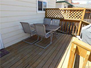 Photo 20: 815 Boyd Avenue in Winnipeg: North End Residential for sale (North West Winnipeg)  : MLS®# 1609014