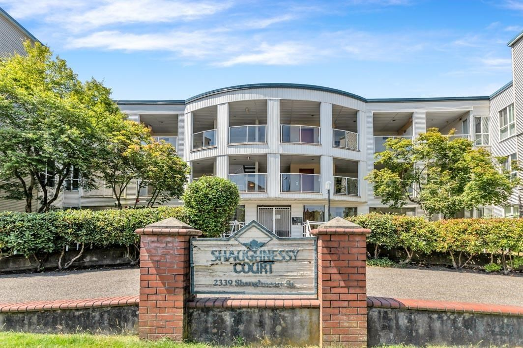 """Main Photo: 201 2339 SHAUGHNESSY Street in Port Coquitlam: Central Pt Coquitlam Condo for sale in """"SHAUGHNESSY COURT"""" : MLS®# R2598801"""