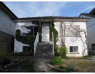 Photo 1: 2168 RENFREW Street in Vancouver: Renfrew VE House for sale (Vancouver East)  : MLS®# V762993