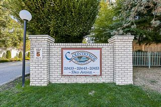 """Photo 1: 108 20453 53 Avenue in Langley: Langley City Condo for sale in """"Countryside Estates"""" : MLS®# R2208732"""