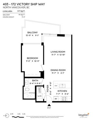"""Photo 21: 403 172 VICTORY SHIP Way in North Vancouver: Lower Lonsdale Condo for sale in """"Atrium"""" : MLS®# R2625786"""