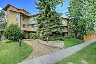 Main Photo: 207 808 4 Avenue NW in Calgary: Sunnyside Apartment for sale : MLS®# A1085609