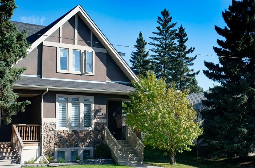 Main Photo: 1906 33 Avenue SW in Calgary: South Calgary Semi Detached for sale : MLS®# A1145035