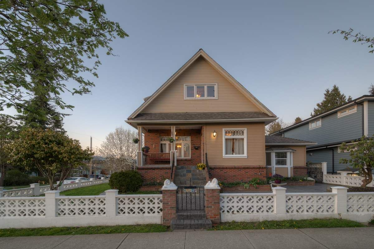 Main Photo: 715 FOURTH STREET in New Westminster: GlenBrooke North House for sale : MLS®# R2159867