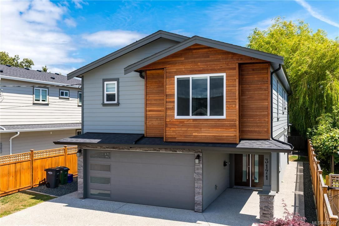 Main Photo: 3171 Kingsley St in Saanich: SE Camosun House for sale (Saanich East)  : MLS®# 842082