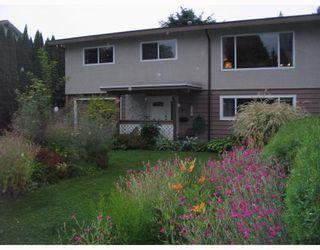 Photo 1: 850 PATRICIA Avenue in Port_Coquitlam: Lincoln Park PQ 1/2 Duplex for sale (Port Coquitlam)  : MLS®# V726272