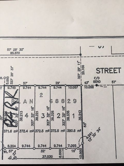 4 Lots on Salter with lane access