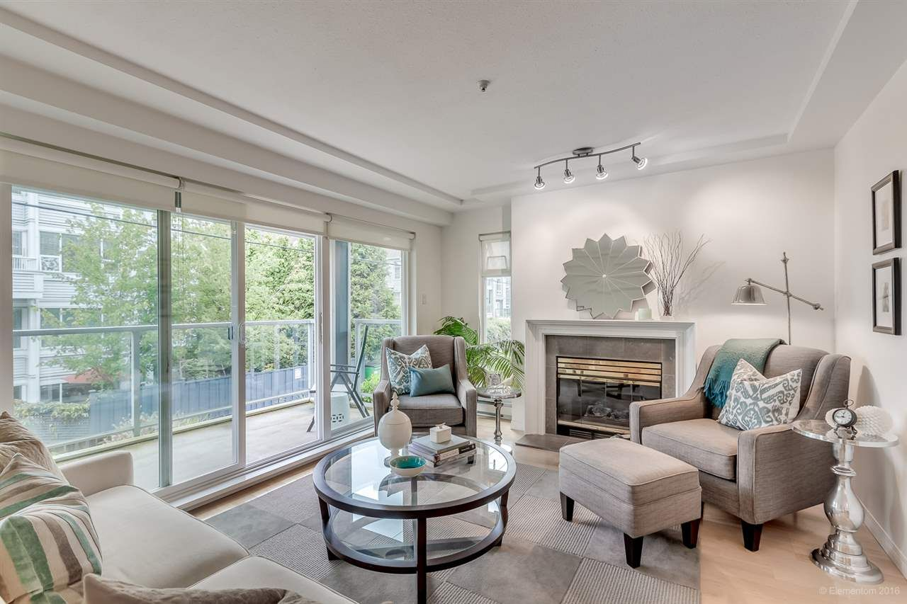 "Main Photo: 201 865 W 15TH Avenue in Vancouver: Fairview VW Condo for sale in ""Tiffany Oaks"" (Vancouver West)  : MLS®# R2098937"