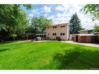 Photo 20: 5 McMurray Bay in WINNIPEG: St Vital Residential for sale (South East Winnipeg)  : MLS®# 1417818