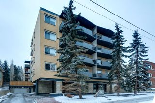 Main Photo: 405 823 Royal Avenue SW in Calgary: Lower Mount Royal Apartment for sale : MLS®# A1061484