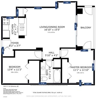 Photo 16: 907 10319 111 Street in Edmonton: Zone 12 Condo for sale : MLS®# E4230757