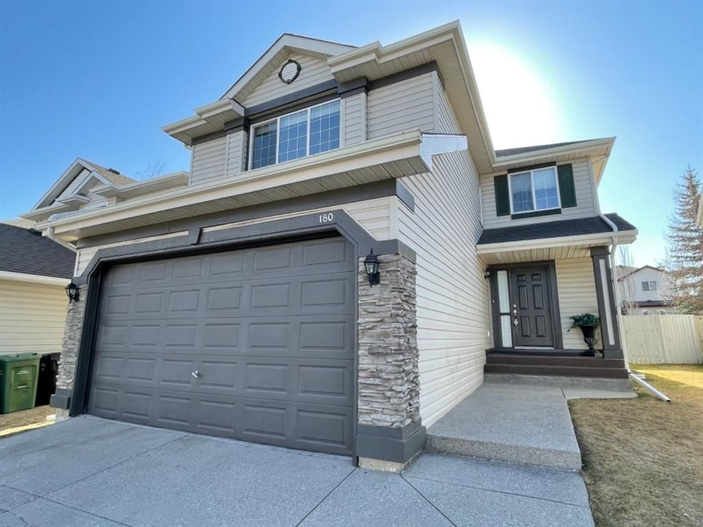 Main Photo: 180 Chaparral Circle SE in Calgary: Chaparral Detached for sale : MLS®# A1095106