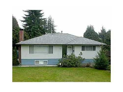 Main Photo: 2050 Viewlynn Drive in North Vancouver: Westlynn Home for sale ()  : MLS®# V954293
