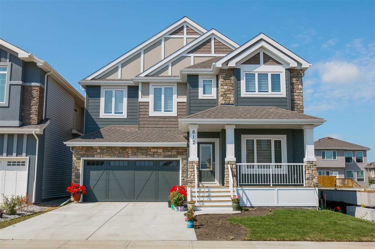 Main Photo: 812 177 Street in Edmonton: Zone 56 House for sale : MLS®# E4254520