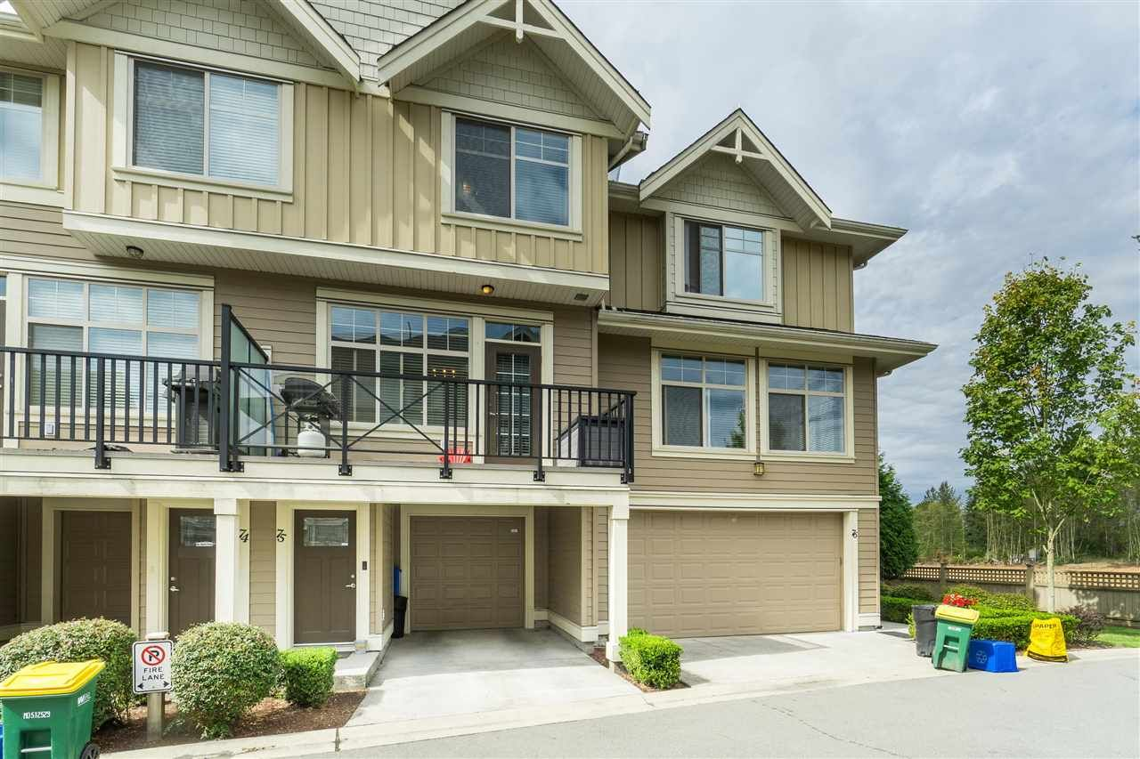 "Main Photo: 75 19525 73 Avenue in Surrey: Clayton Townhouse for sale in ""UPTOWN 2"" (Cloverdale)  : MLS®# R2527655"