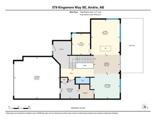Photo 38: 579 Kingsmere Way SE: Airdrie Detached for sale : MLS®# A1045570