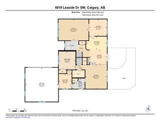 Photo 8: 6918 LEASIDE Drive SW in Calgary: Lakeview Detached for sale : MLS®# A1023720