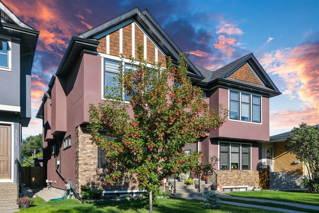 Main Photo: 3519A 1 Street NW in Calgary: Highland Park Semi Detached for sale : MLS®# A1141158