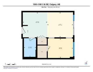Photo 10: 1503 1188 3 Street SE in Calgary: Beltline Apartment for sale : MLS®# A1100736