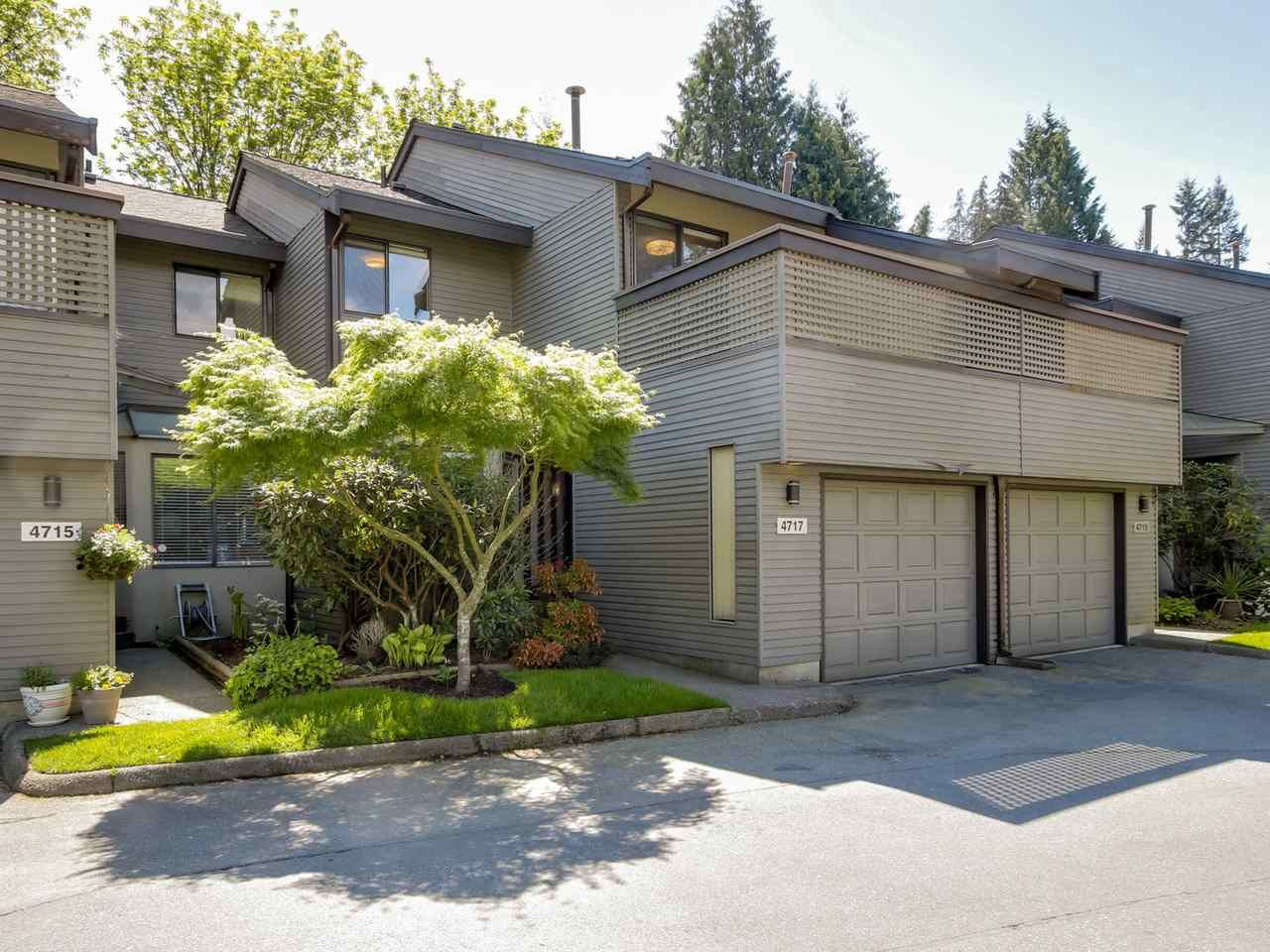 Main Photo: 4717 GLENWOOD Avenue in North Vancouver: Canyon Heights NV Townhouse for sale : MLS®# R2062249