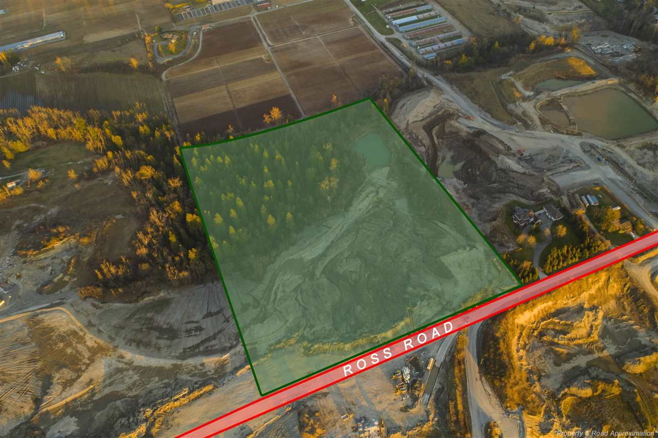 Main Photo: 1720 ROSS Road in Abbotsford: Aberdeen Land for sale : MLS®# R2445453