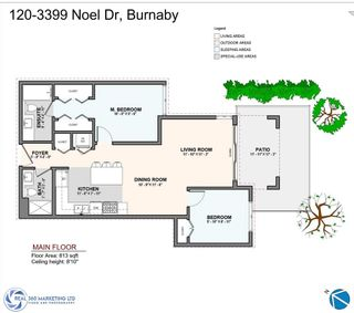 """Photo 21: 120 3399 NOEL Drive in Burnaby: Sullivan Heights Condo for sale in """"CAMERON"""" (Burnaby North)  : MLS®# R2498980"""