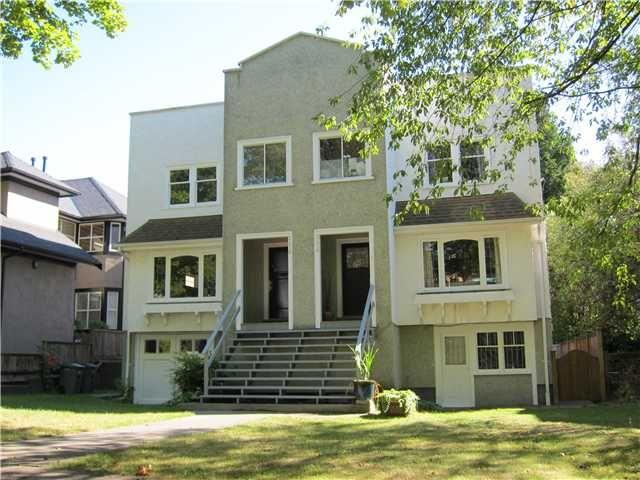Main Photo: 2476 W 8TH AV in : Kitsilano House for sale : MLS®# V848006