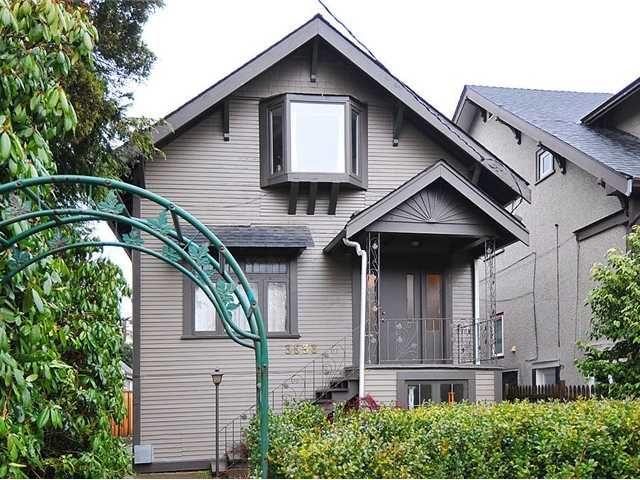 Main Photo: 3533 W 5TH AV in : Kitsilano House for sale : MLS®# V867324
