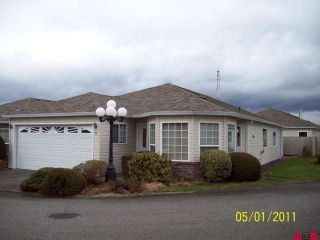 Photo 1: # 31 8500 YOUNG RD in Chilliwack: House for sale : MLS®# H1100543