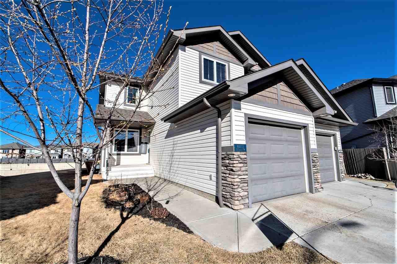 Main Photo: 16833 51 Street in Edmonton: Zone 03 House Half Duplex for sale : MLS®# E4237781