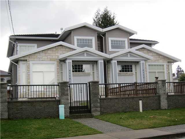Main Photo: 6114 BRYANT STREET in : Upper Deer Lake 1/2 Duplex for sale : MLS®# V877254