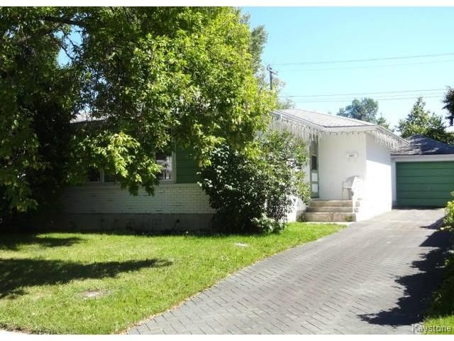 Photo 1: Photos: 851 Vimy Road in WINNIPEG: Westwood / Crestview Residential for sale (West Winnipeg)  : MLS®# 1318165