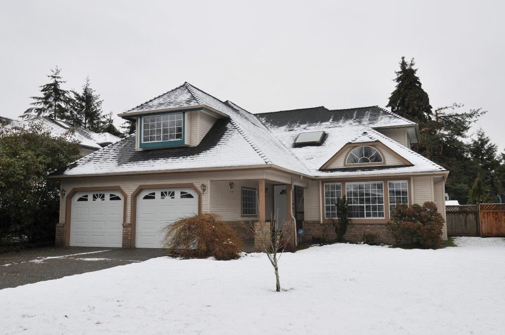 Spacious two story home with double car garage