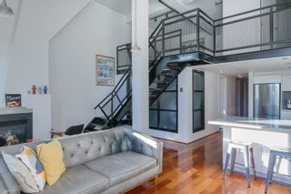 """Photo 1: 406 549 COLUMBIA Street in New Westminster: Downtown NW Condo for sale in """"C2C Lofts"""" : MLS®# R2568898"""