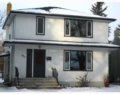 Main Photo: 657 WATERLOO Street in WINNIPEG: River Heights / Tuxedo / Linden Woods Residential for sale (South Winnipeg)  : MLS®# 2821627