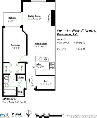 Photo 18: 215 1675 W 10TH AVENUE in Vancouver: Fairview VW Condo for sale (Vancouver West)  : MLS®# R2281835
