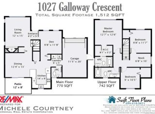Photo 10: 1027 GALLOWAY Crescent in COURTENAY: CV Courtenay City House for sale (Comox Valley)  : MLS®# 714779